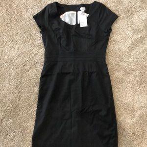 H&M Pin-stripe black dress